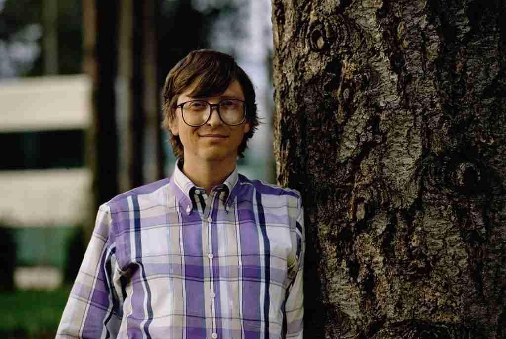 Bill Gates in College
