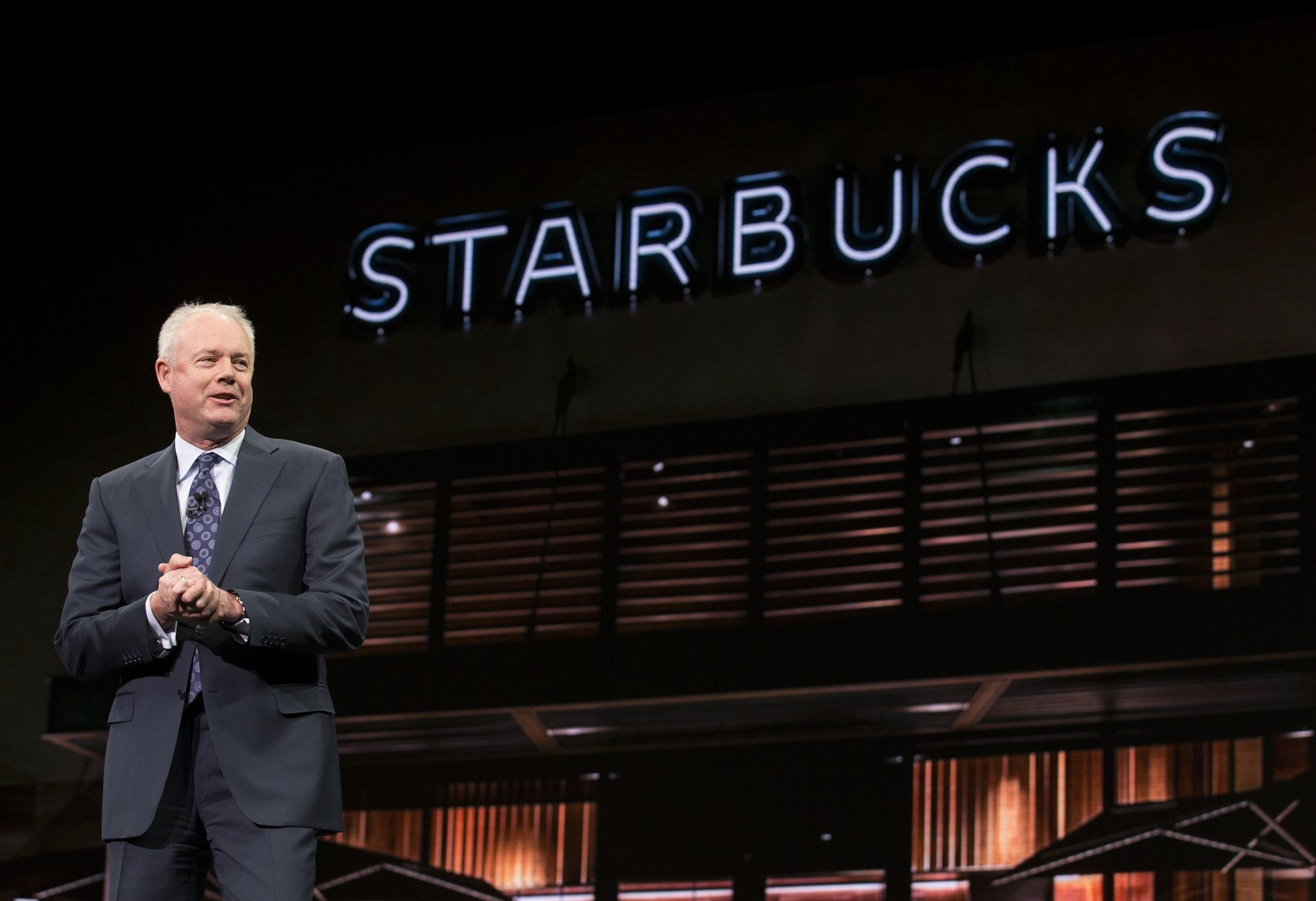 Kevin Johnson as Starbucks Executive