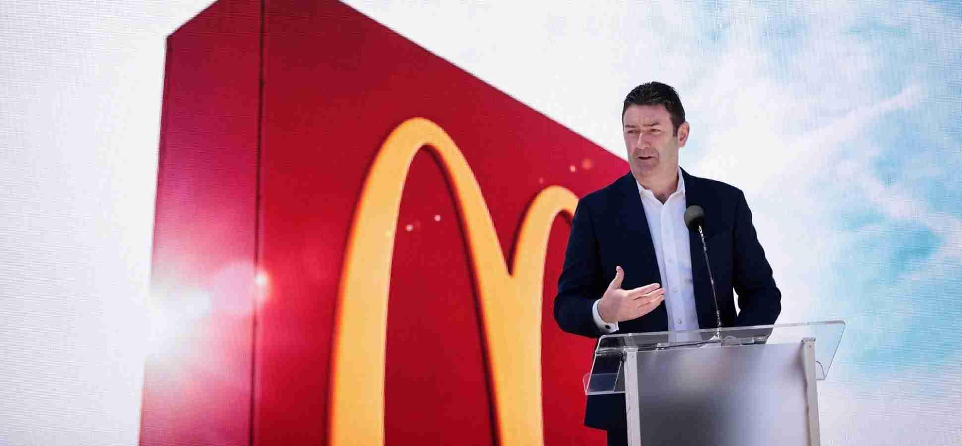 Steve Easterbrook as McDonald's Executive