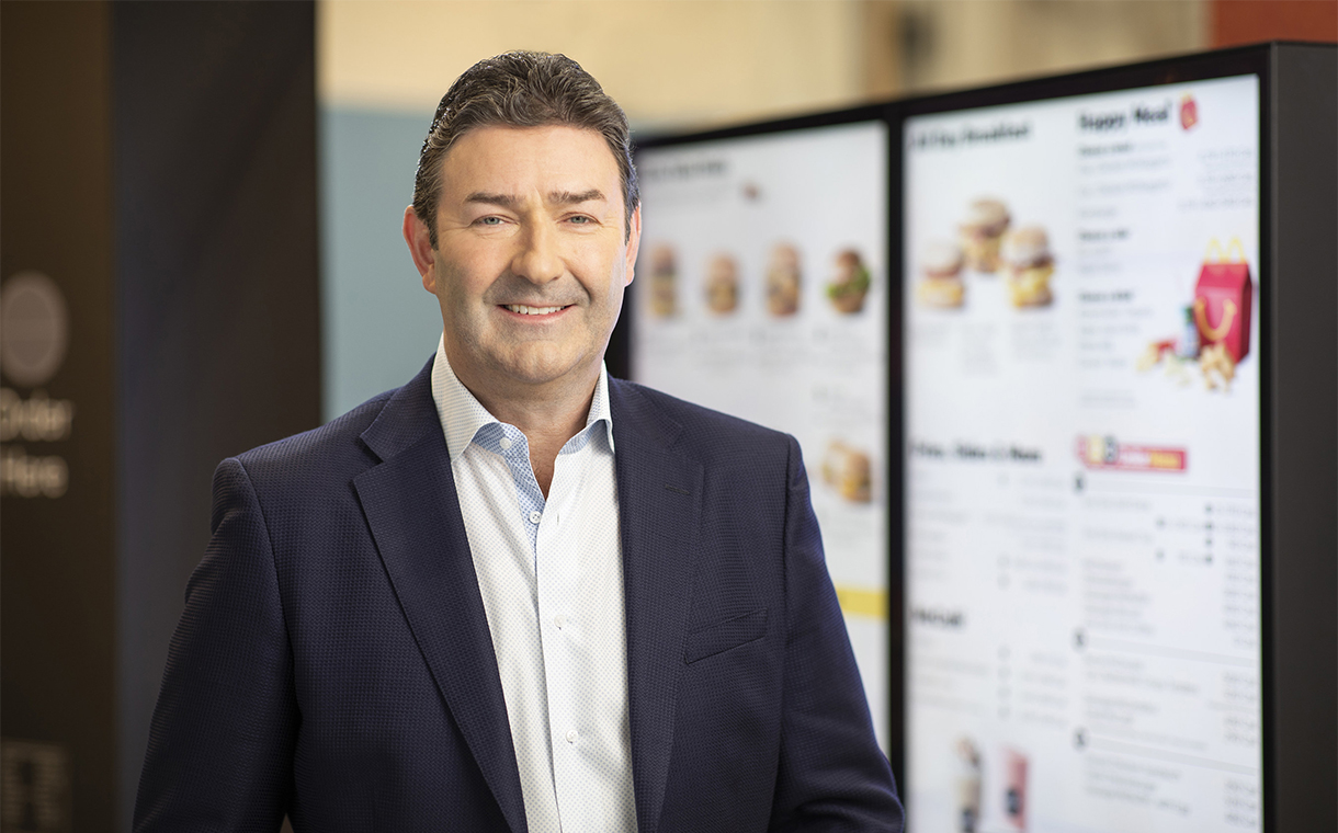 Easterbrook as McDonald's CEO