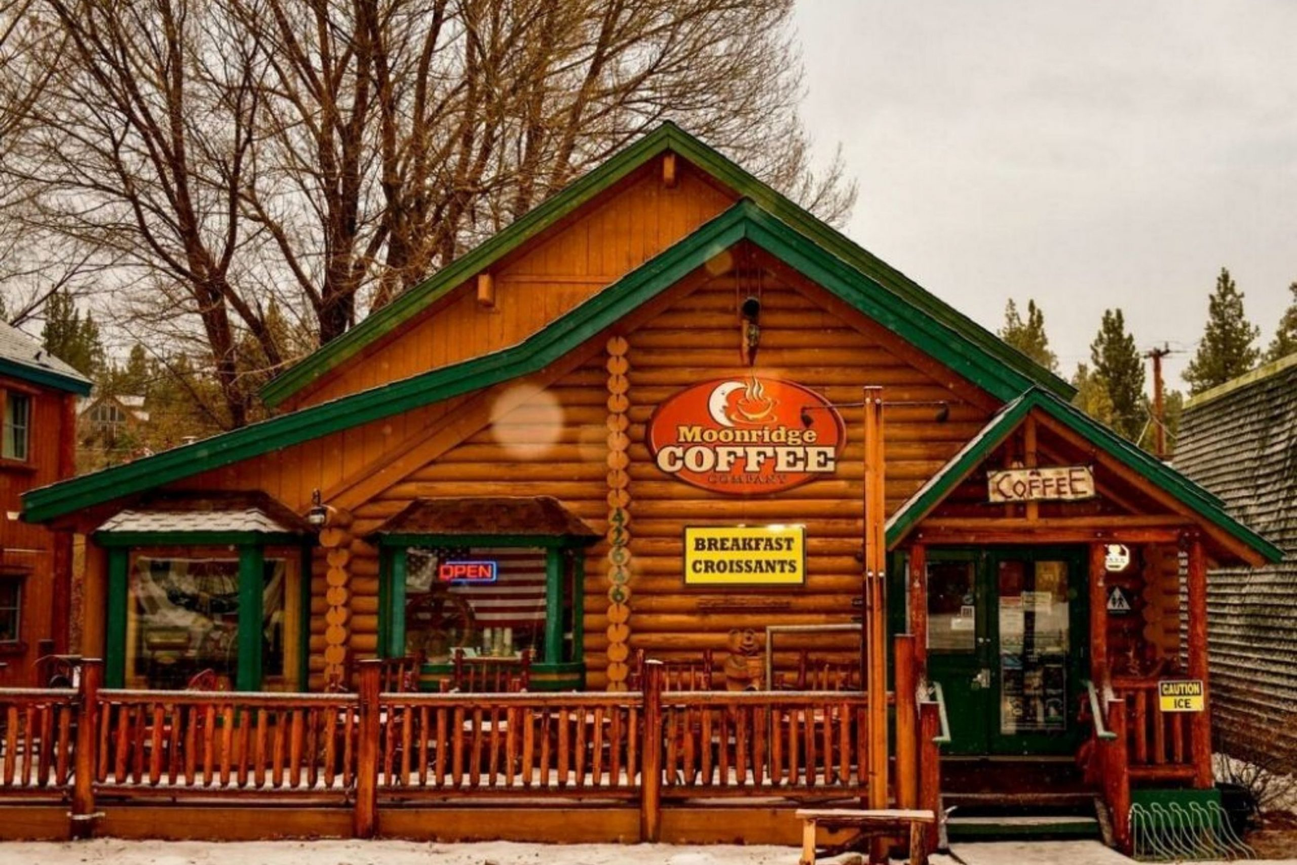 big bear coffee shops